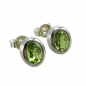 Mobile Preview: Schmuck-Michel Damen Ohrstecker Silber 925 Peridot 1,8 Karat (4470)
